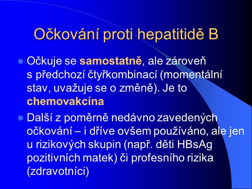 Očkování proti hepatitidě B