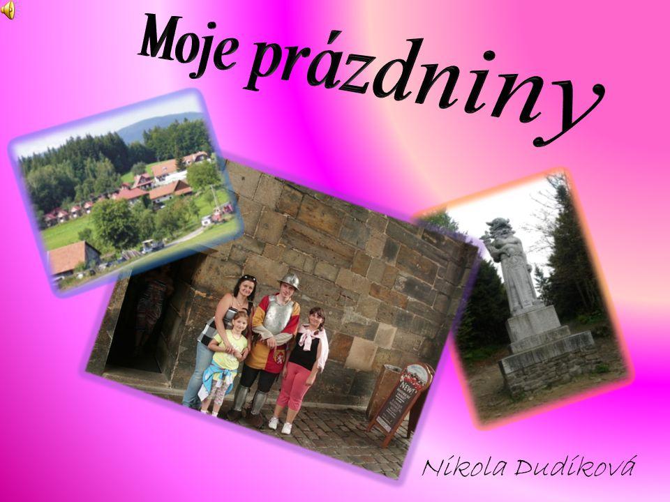 Moje prázdniny Nikola Dudíková