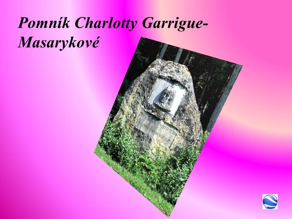 Pomník Charlotty Garrigue-Masarykové