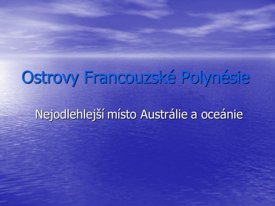 Ostrovy Francouzské Polynésie