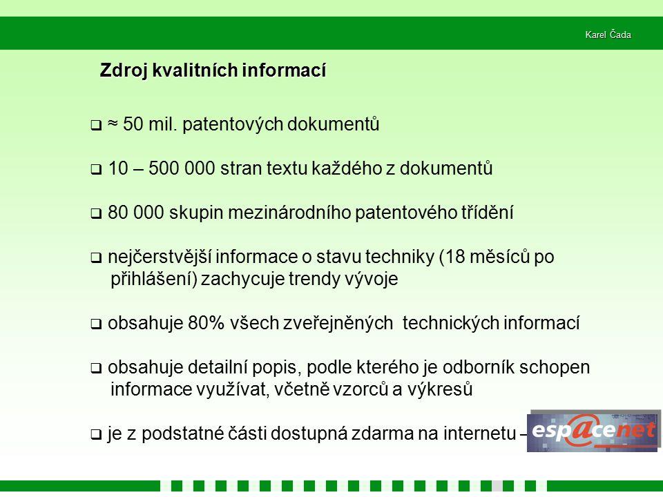 Zdroj kvalitních informací