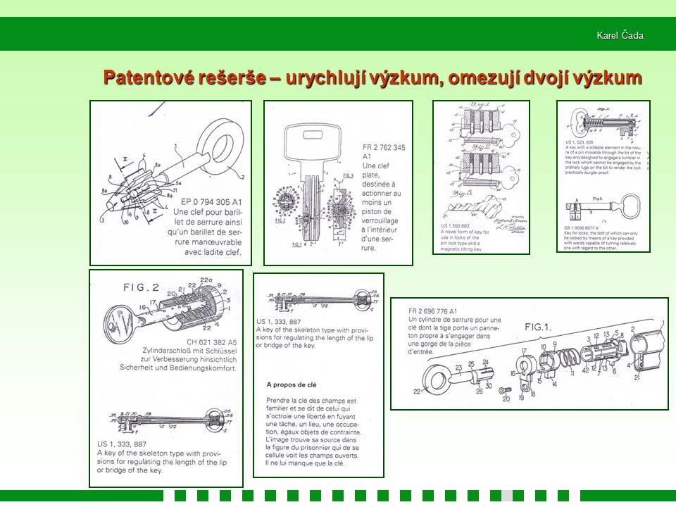 Patentové rešerše – urychlují výzkum, omezují dvojí výzkum