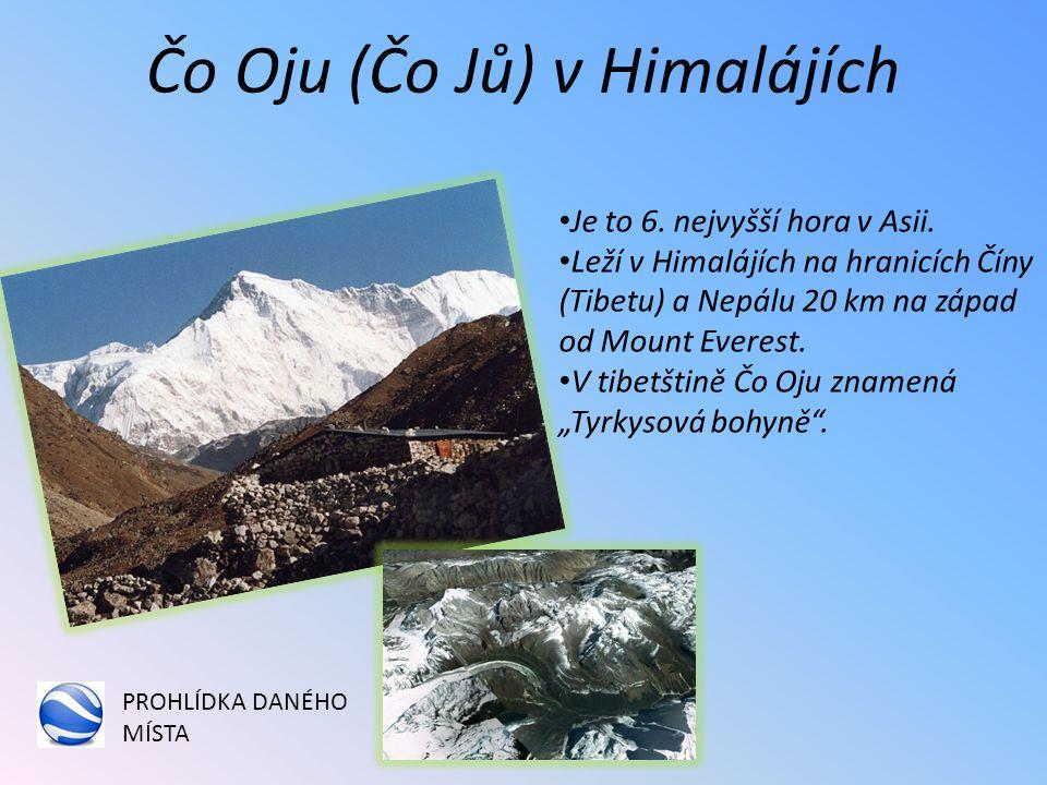 Čo Oju (Čo Jů) v Himalájích