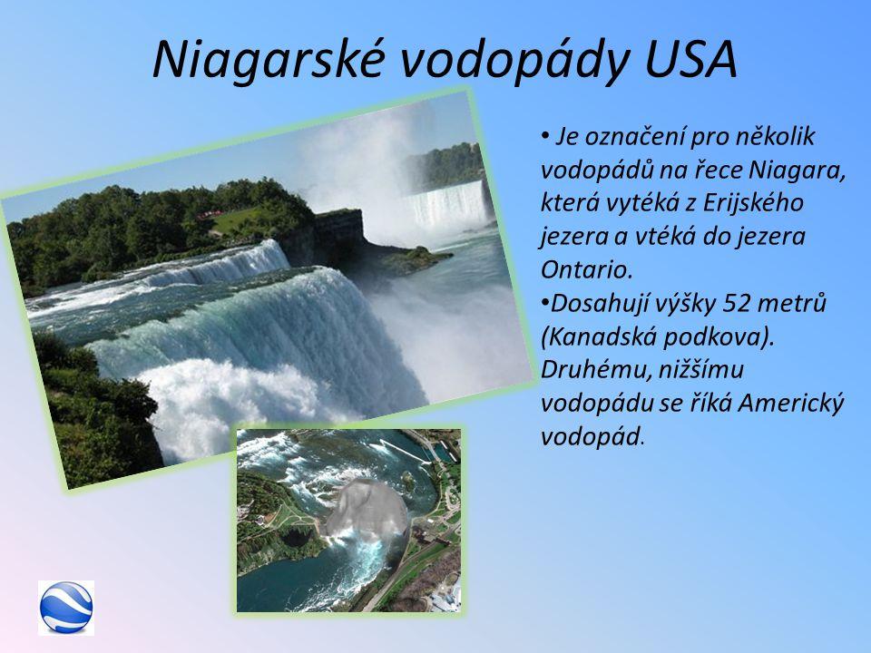 Niagarské vodopády USA