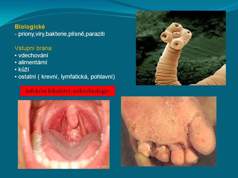 Infekční lékařství, mikrobiologie