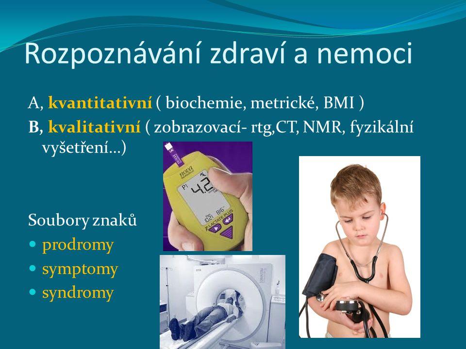 Rozpoznávání zdraví a nemoci