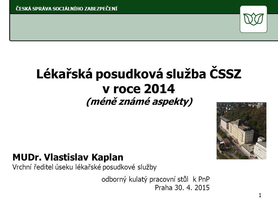 Lékařská posudková služba ČSSZ