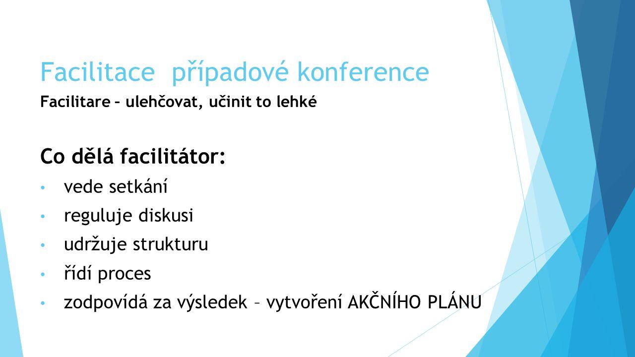 Facilitace případové konference