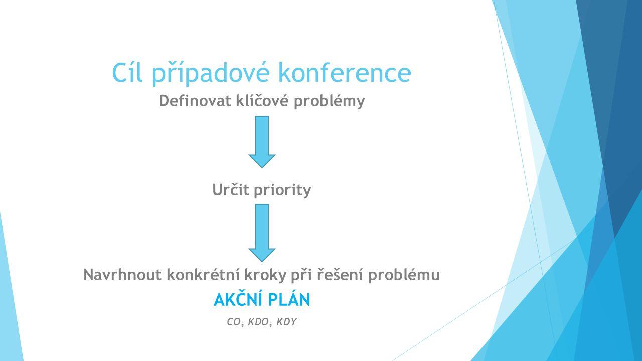 Cíl případové konference