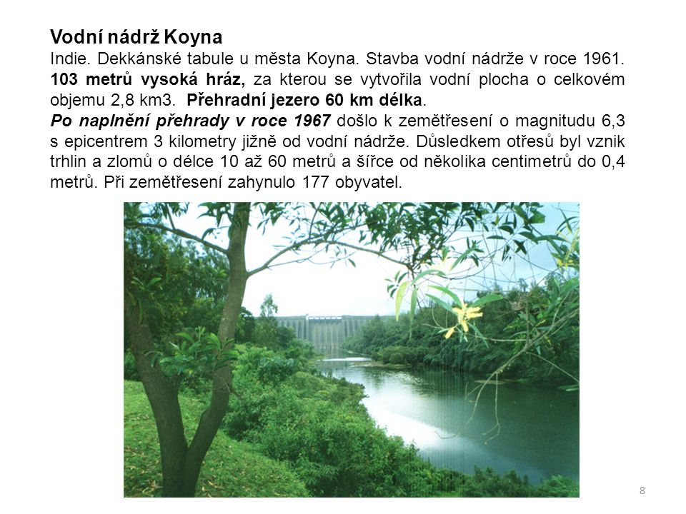 Vodní nádrž Koyna