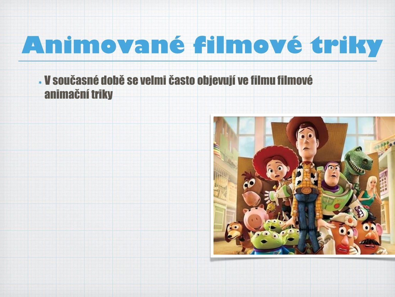 Animované filmové triky