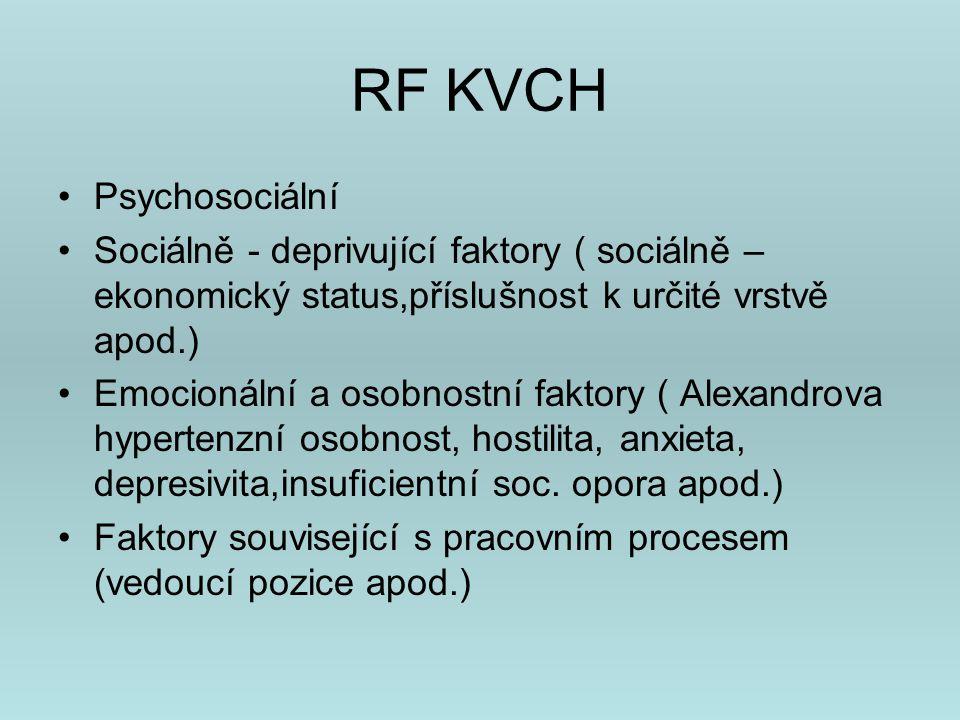 RF KVCH Psychosociální