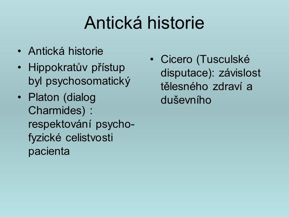 Antická historie Antická historie