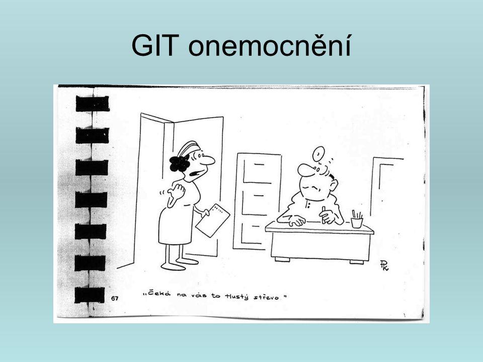 GIT onemocnění