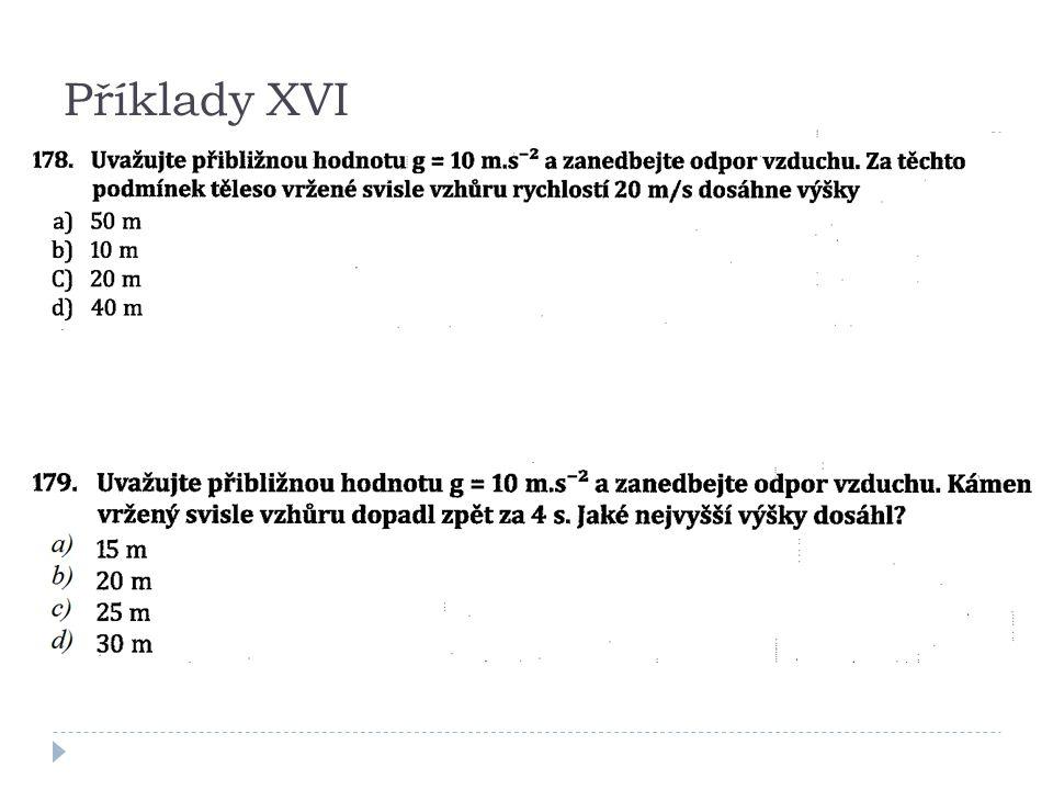 Příklady XVI