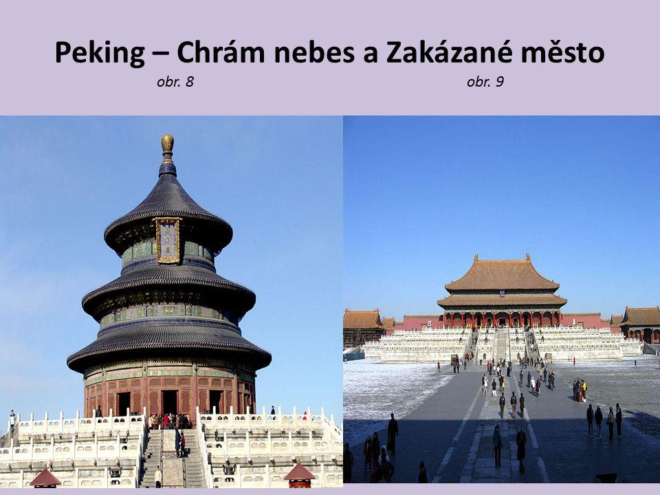 Peking – Chrám nebes a Zakázané město obr. 8 obr. 9