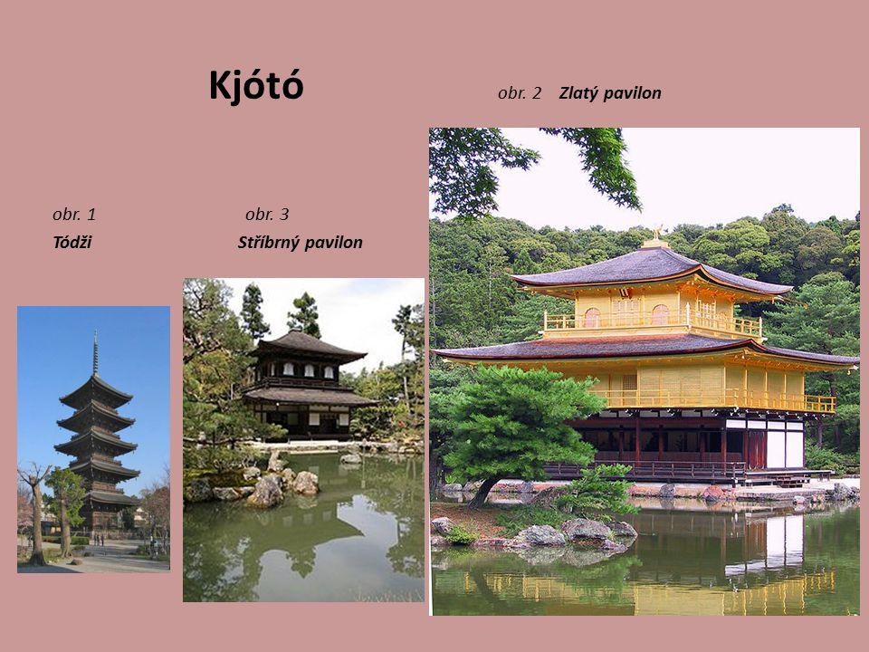 Kjótó obr. 2 Zlatý pavilon