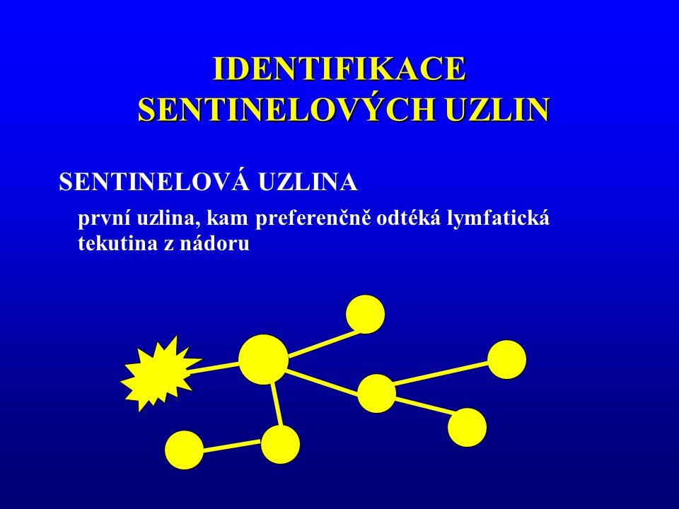 IDENTIFIKACE SENTINELOVÝCH UZLIN