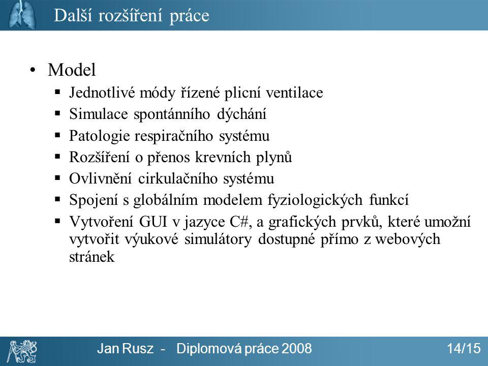 Jan Rusz - Diplomová práce 2008 14/15