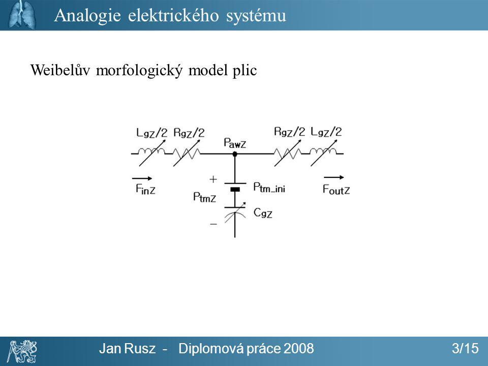 Analogie elektrického systému