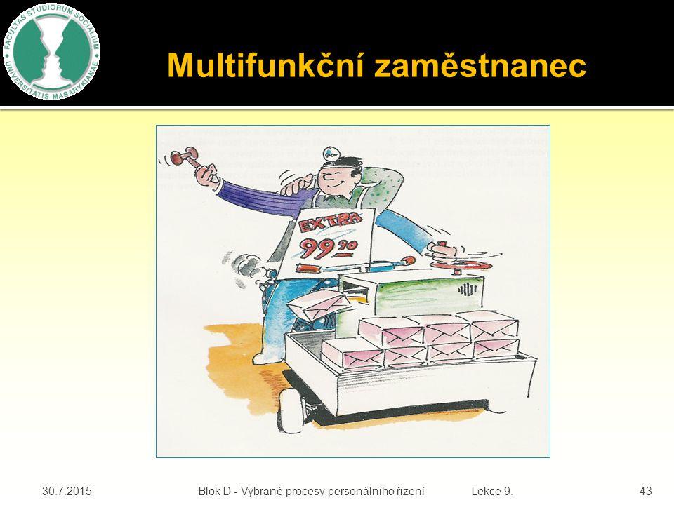 Multifunkční zaměstnanec