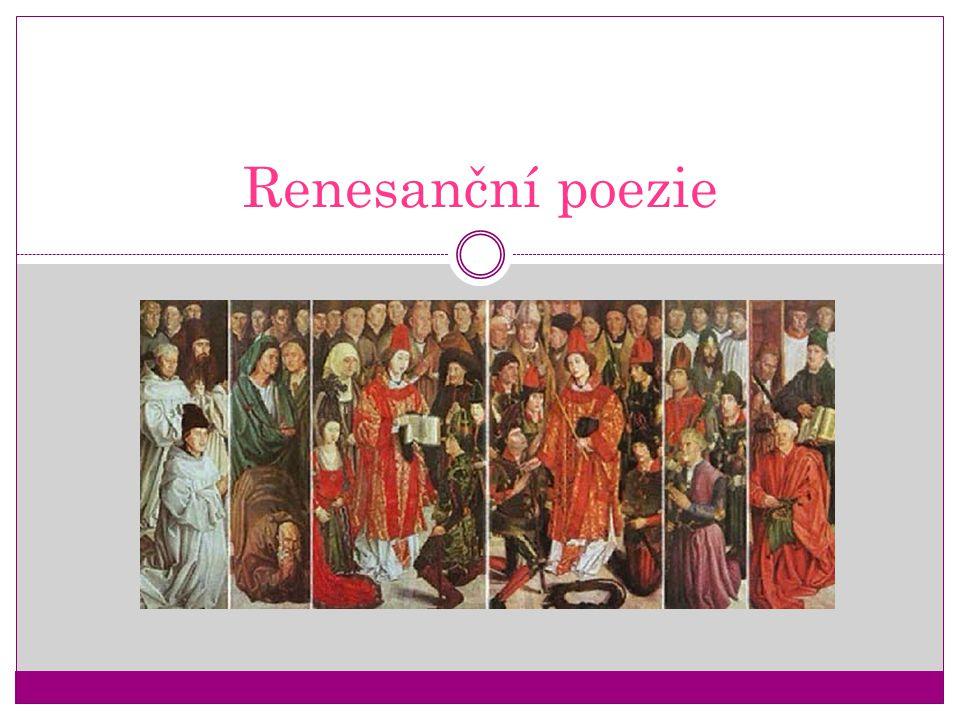 Renesanční poezie
