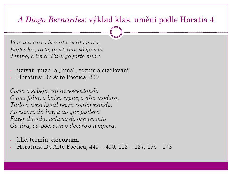 A Diogo Bernardes: výklad klas. umění podle Horatia 4