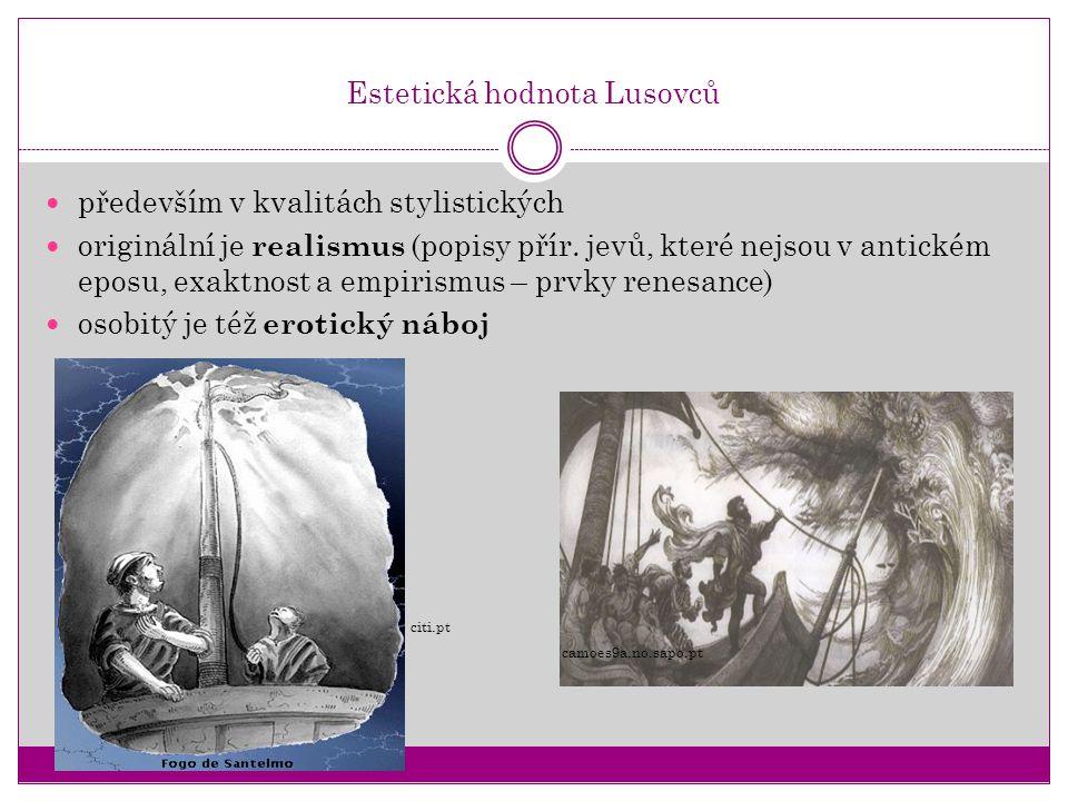 Estetická hodnota Lusovců
