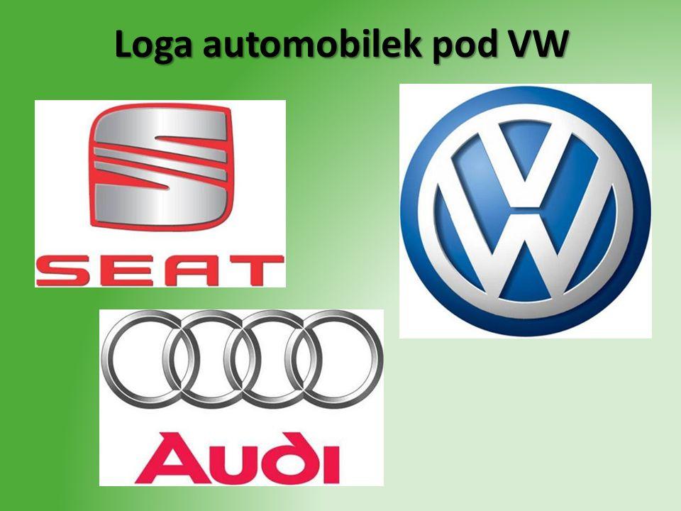 Loga automobilek pod VW