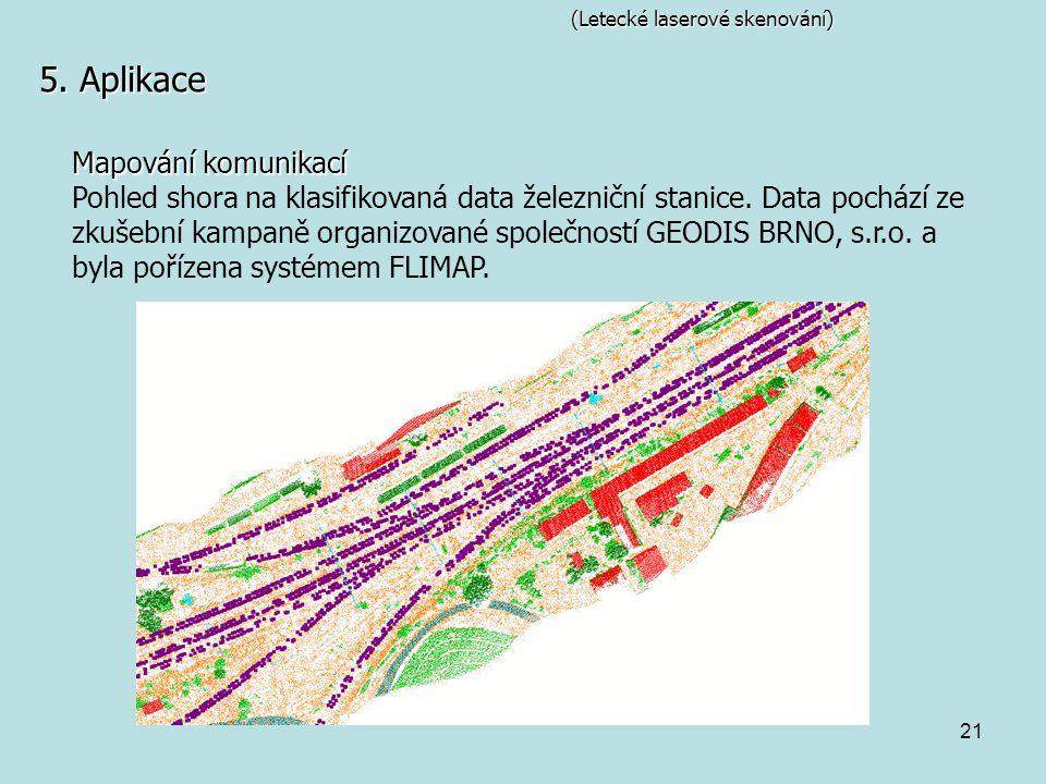 5. Aplikace Mapování komunikací
