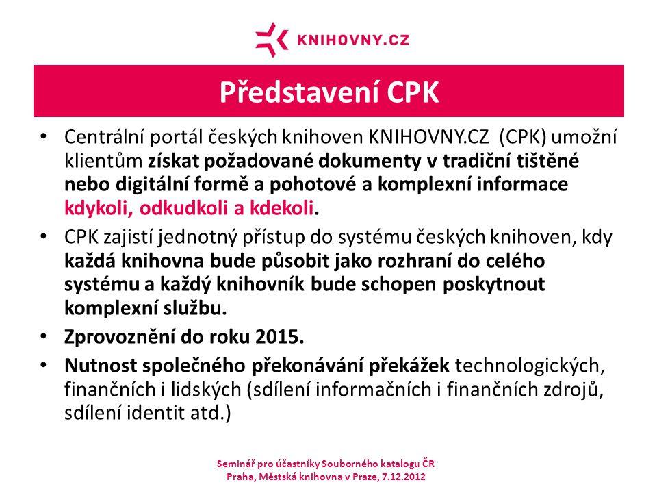 Představení CPK