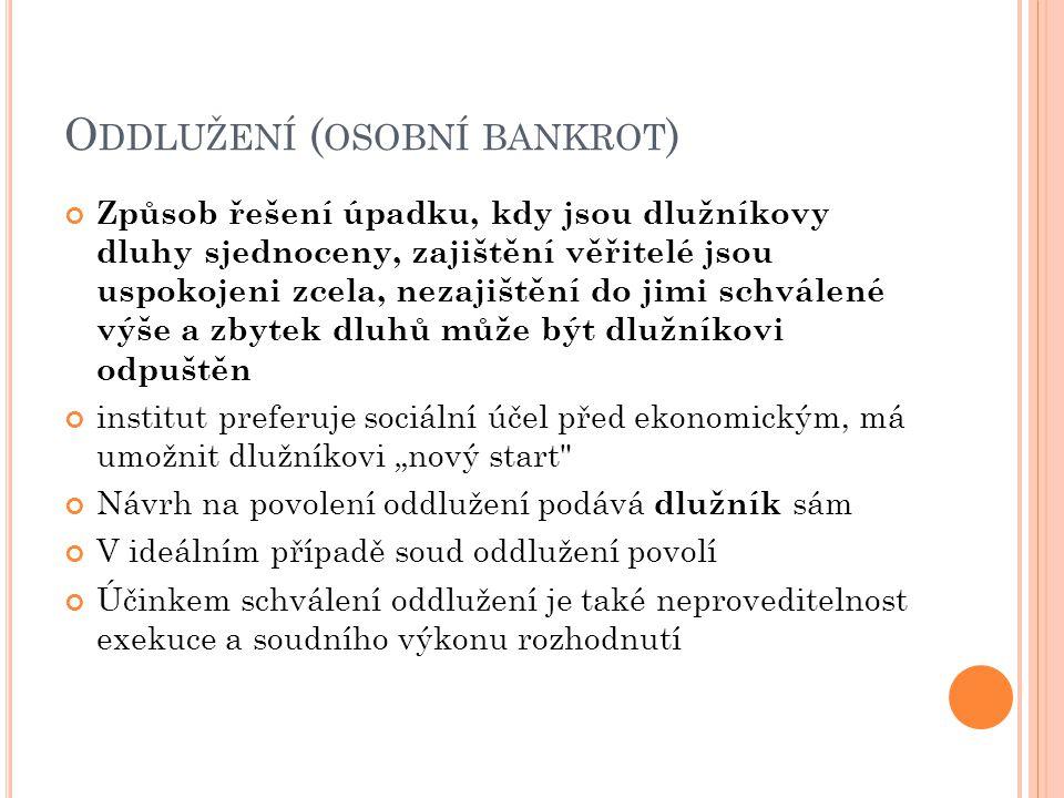 Oddlužení (osobní bankrot)