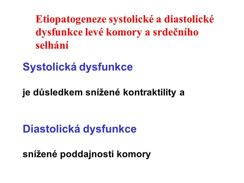 Diastolická dysfunkce