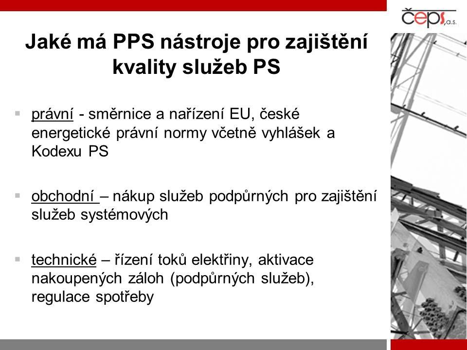 Jaké má PPS nástroje pro zajištění kvality služeb PS