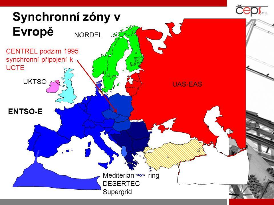 Synchronní zóny v Evropě
