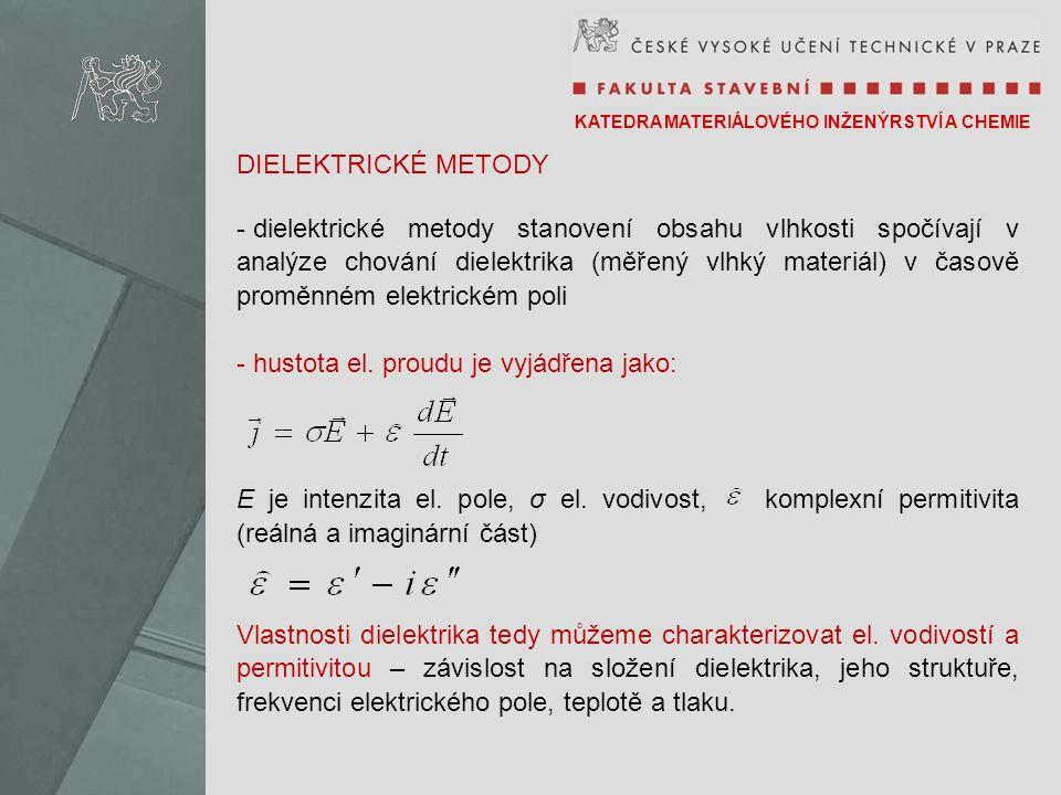 hustota el. proudu je vyjádřena jako:
