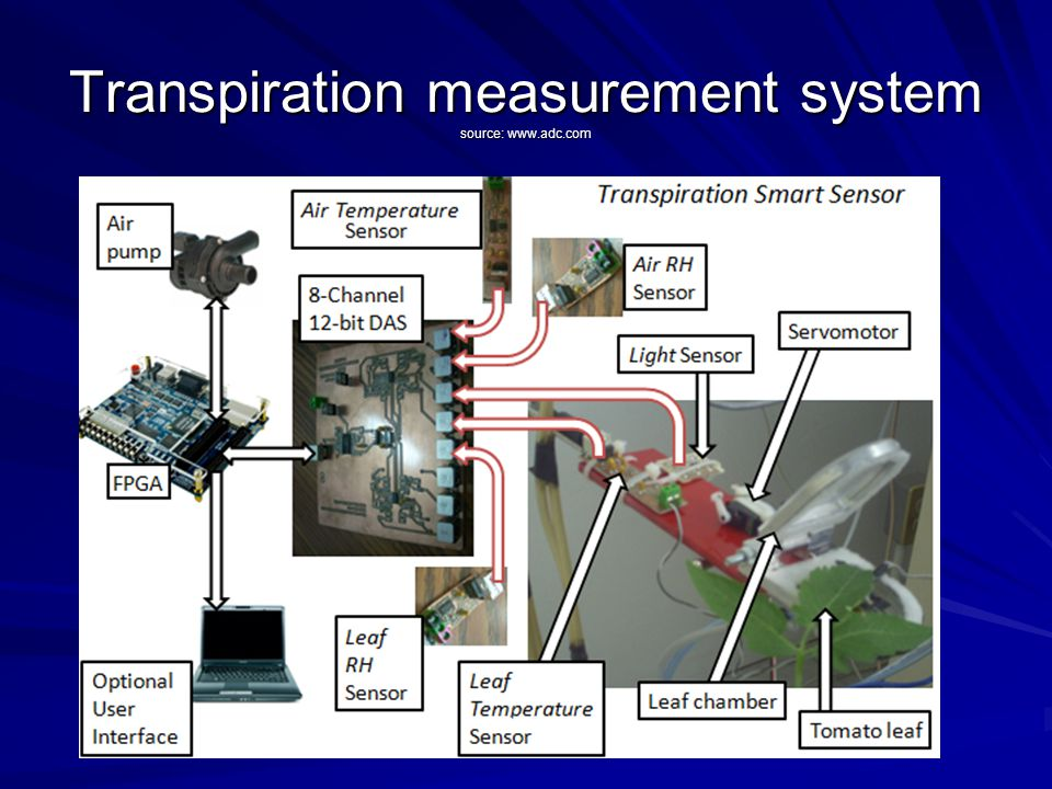 Transpiration measurement system source: www.adc.com