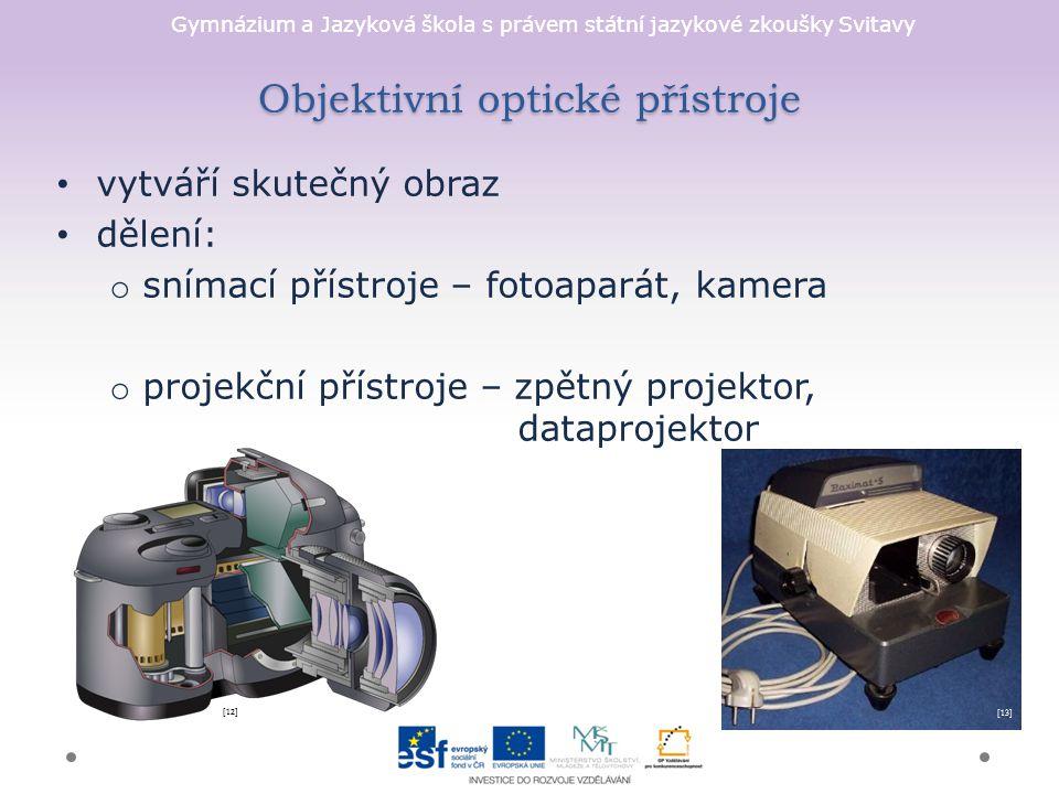 Objektivní optické přístroje