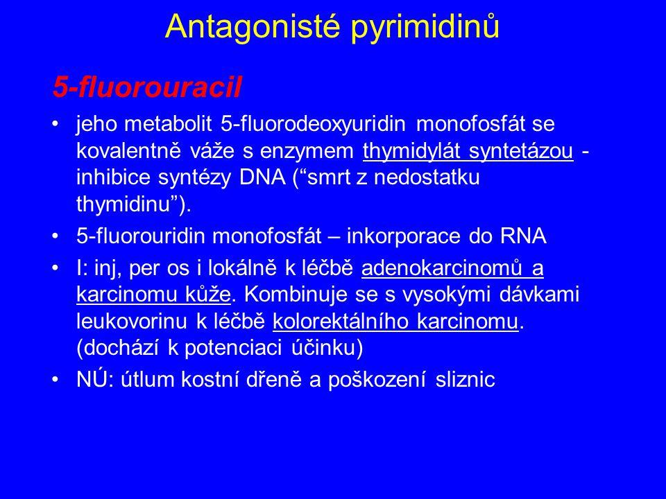 Antagonisté pyrimidinů