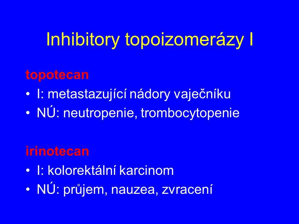 Inhibitory topoizomerázy I