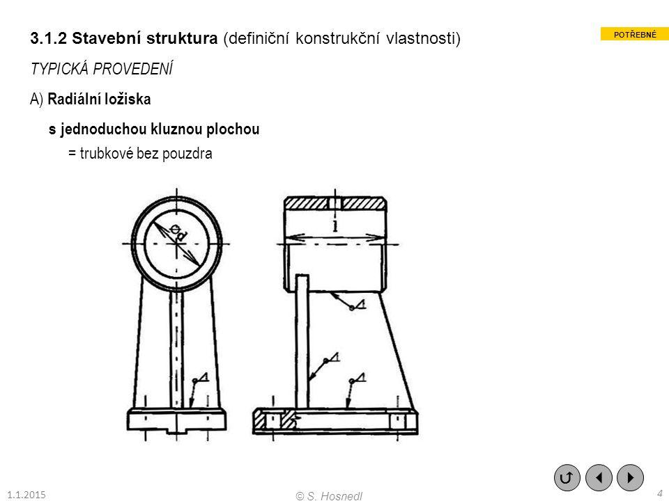 3.1.2 Stavební struktura (definiční konstrukční vlastnosti)