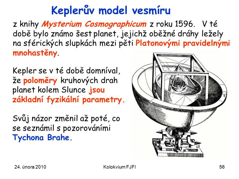 Keplerův model vesmíru
