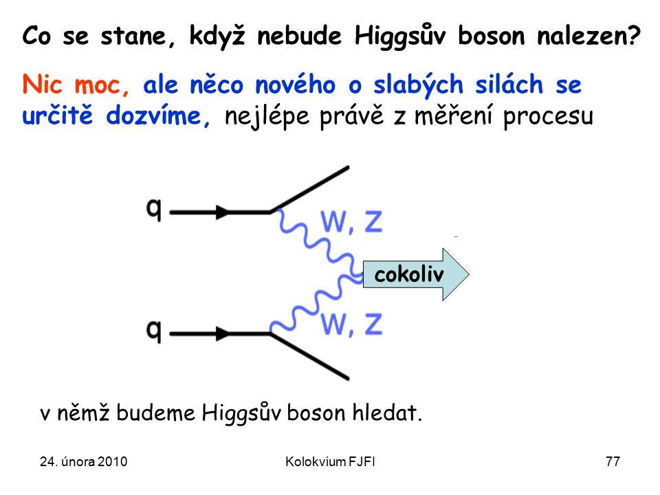 Co se stane, když nebude Higgsův boson nalezen