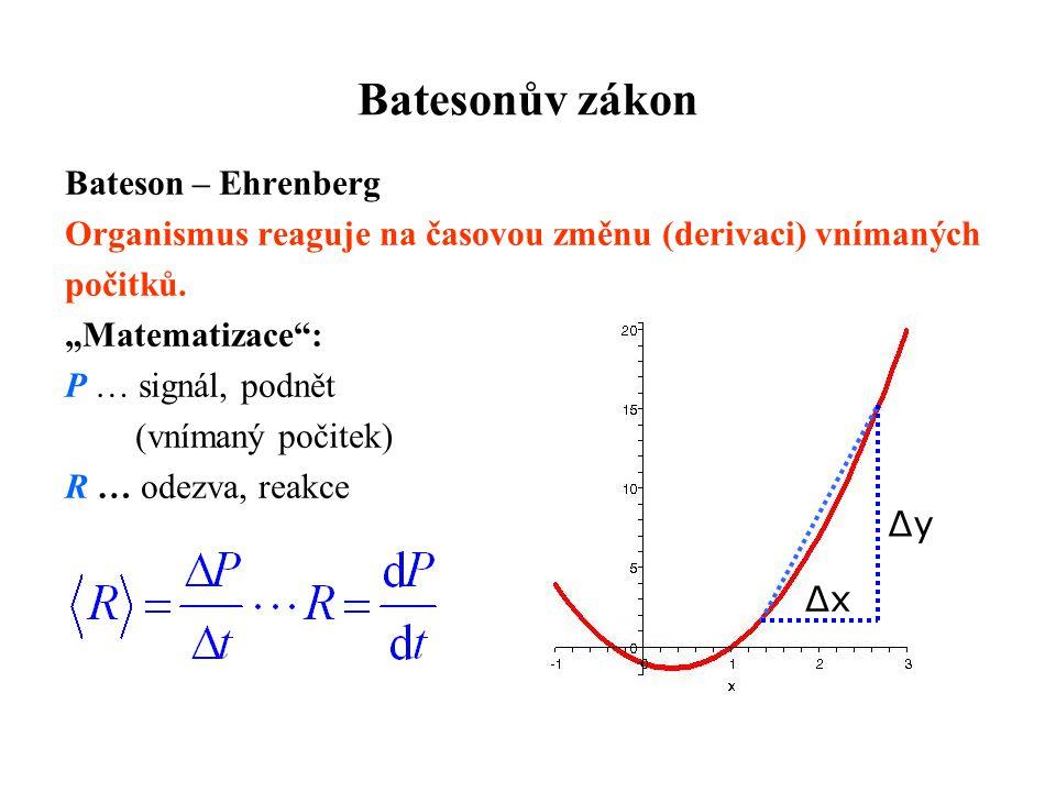 Batesonův zákon Bateson – Ehrenberg