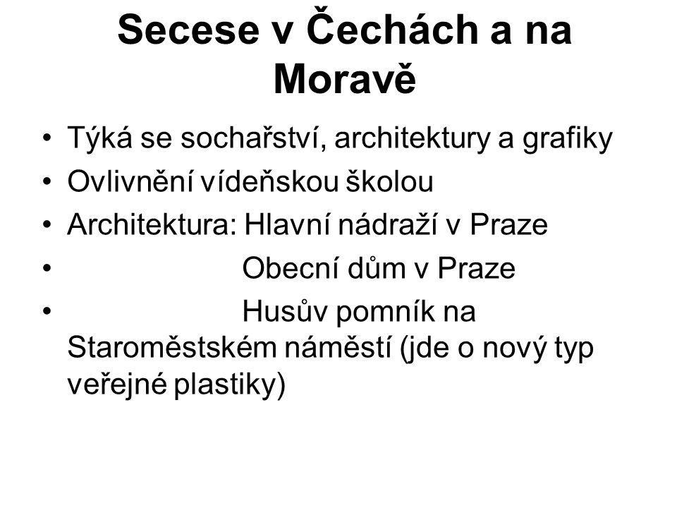 Secese v Čechách a na Moravě