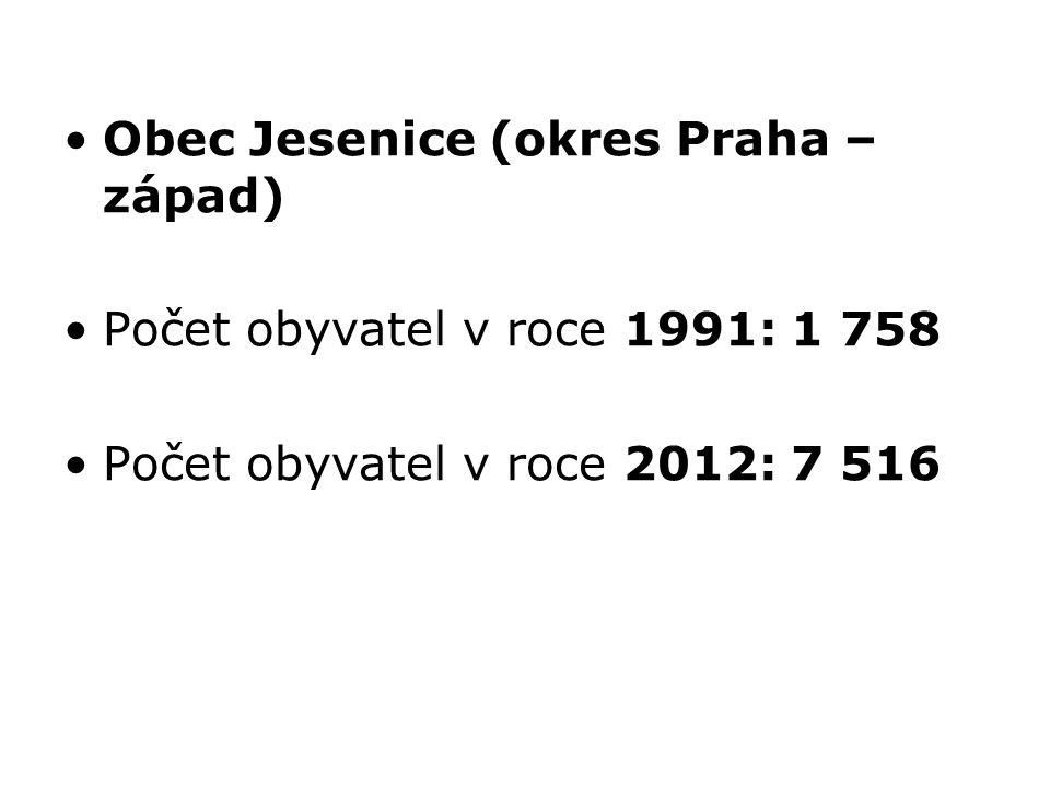Obec Jesenice (okres Praha – západ)