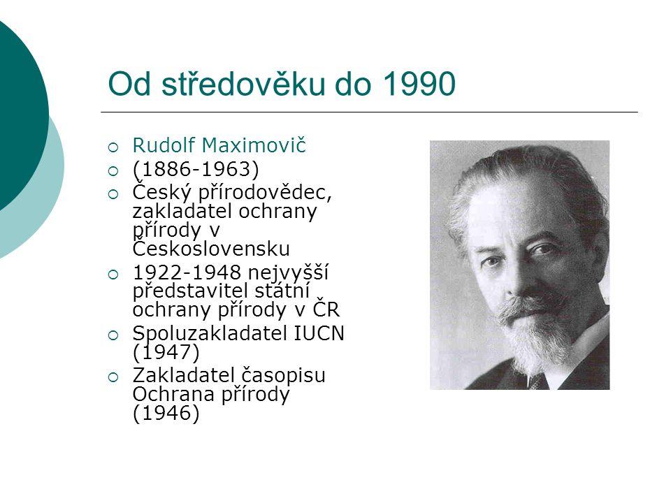 Od středověku do 1990 Rudolf Maximovič (1886-1963)