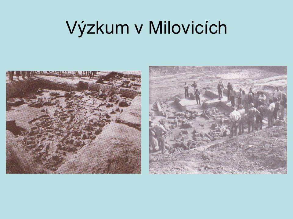 Výzkum v Milovicích