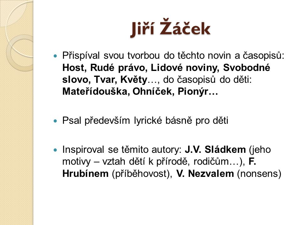 Jiří Žáček