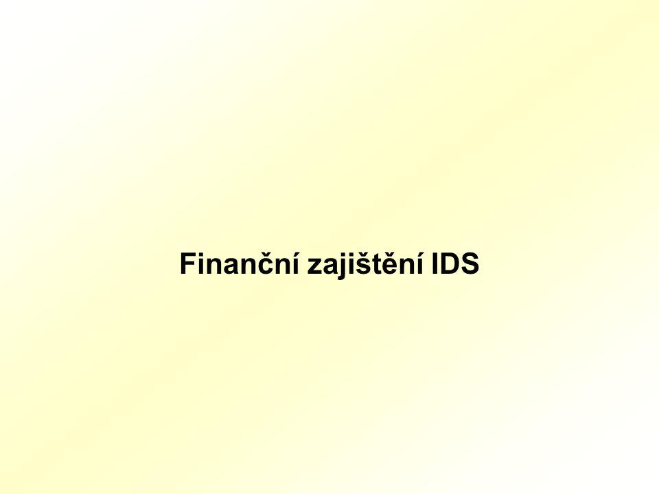 Finanční zajištění IDS